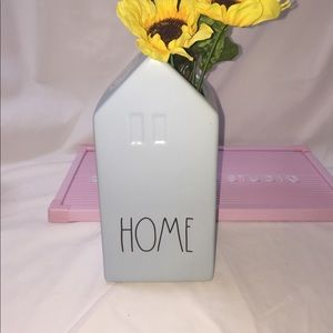 Rae Dunn 🌻HOME light blue flower vase